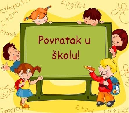 Dragi nastavnici, učenici i roditelji i svi koji učestvujete u životu i radu škole, želimo vam sretan početak školske godine!