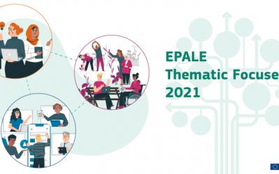 EPALE 2021 Thematic Focuses