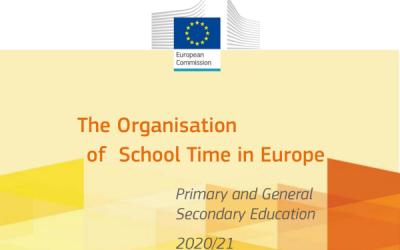 Organizacija školskog vremena u europskom osnovnoškolskom i općem srednjoškolskom obrazovanju 2020./2021.
