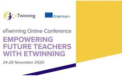 Mrežna konferencija 2020 – Osnaživanje budućih nastavnika sa #eTwinning, održat će se ovog tjedna!