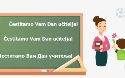 U povodu Dana učitelja