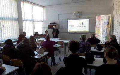 eTwinning обука за наставнике Средње техничке школе у Тешњу